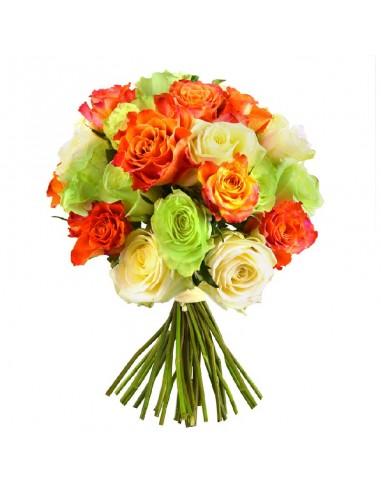 Bouquet de roses livraison domicile express le for Commander un bouquet