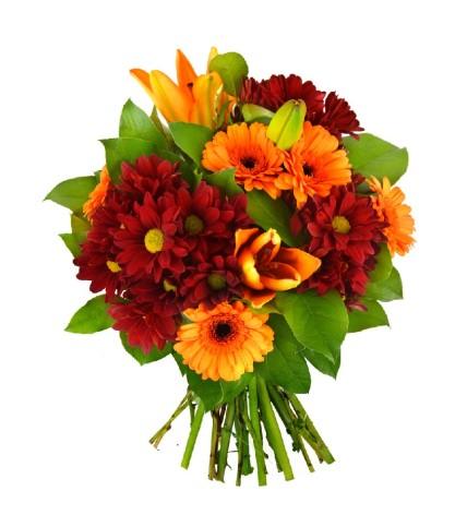 Bouquet Toussaint multicouleur