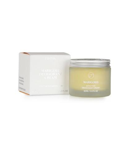Crème déodorante Huile de calendula biologique - Flow - Le Bouquet de fleurs
