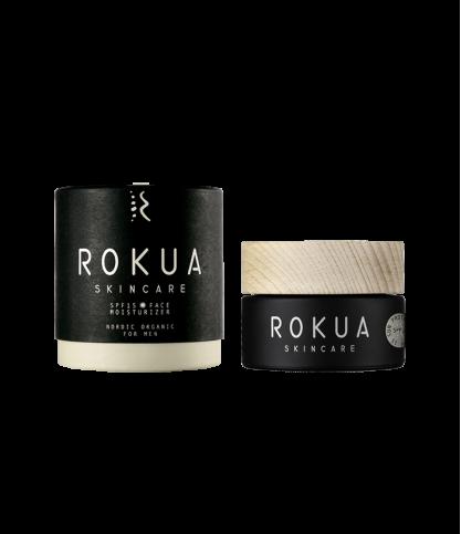 Crème hydratante visage SPF 15 - Rokua - Le Bouquet de fleurs