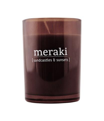 Bougie parfumée Sandcastles & Sunsets - Meraki - Le Bouquet de fleurs