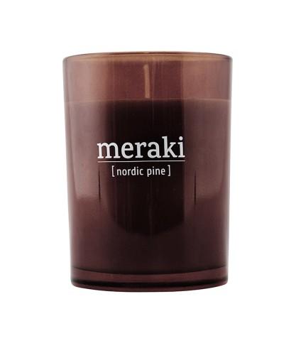 Bougie parfumée Nordic Pine - Meraki - Le Bouquet de fleurs