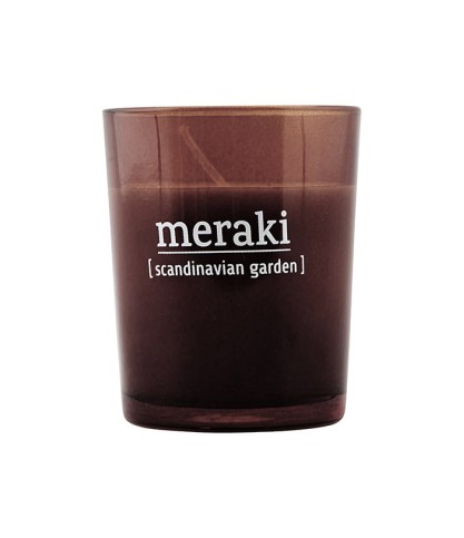 Bougie parfumée Scandinavian Garden - Meraki - Le Bouquet de fleurs