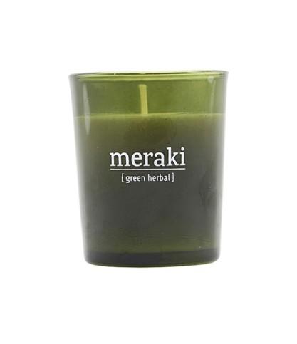 Meraki - Le Bouquet de Fleurs - Bougie Parfumée Herbes fraiches