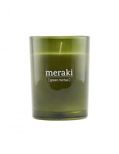 Bougie parfumée Herbes Fraiches - Meraki - Le Bouquet de fleurs