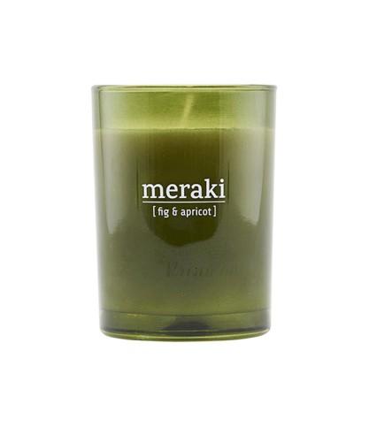 Bougie parfumée Figue & Abricot - Meraki - Le Bouquet de fleurs