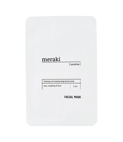 Masque tissu hydratant - Meraki - Le Bouquet de fleurs