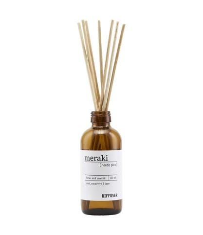 Bâtonnets parfumés Nordic Pine - Meraki - Le Bouquet de fleurs