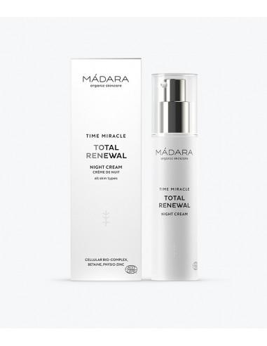 Madara - Crème nuit anti-age TIME MIRACLE - Le Bouquet de Fleurs