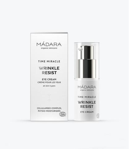 Crème yeux lissante TIME MIRACLE - Madara - Le Bouquet de fleurs
